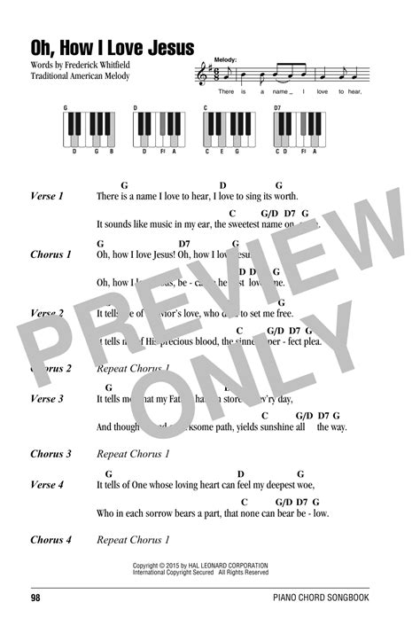 piano tutorial jesus is love oh how i love jesus o how i love jesus sheet music by