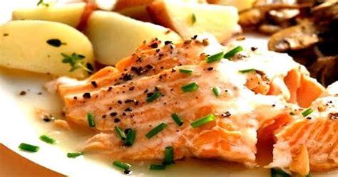 membuat steak salmon saus barbeque resep masakan