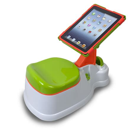 how do i potty a ipotty aims to entertain toddlers during toilet