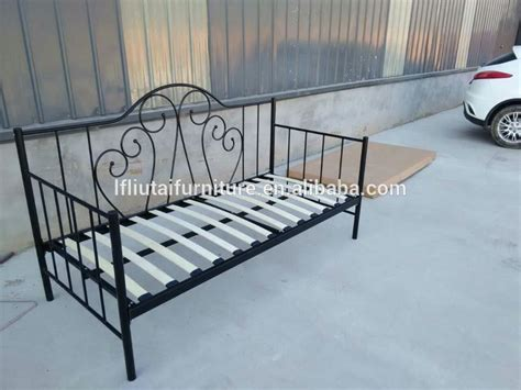 sofa bed metal frame wood slat metal frame sofa bed iron day bed view sofa bed