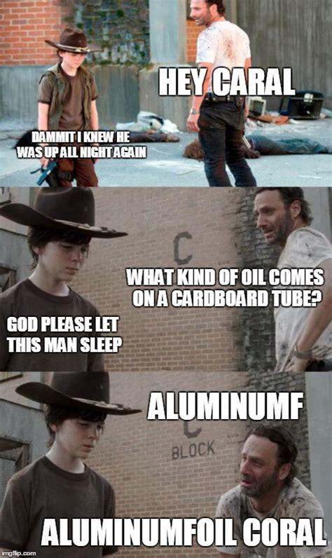 Hey Carl Meme - rick and carl 3 meme imgflip