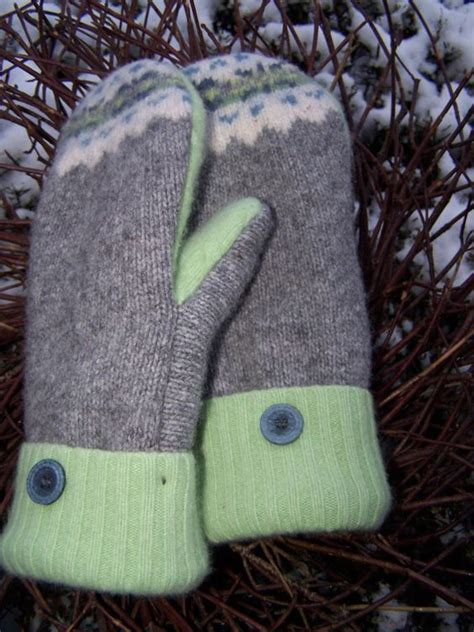 pattern felted mittens free wool mittens from sweaters lined with fleece pattern