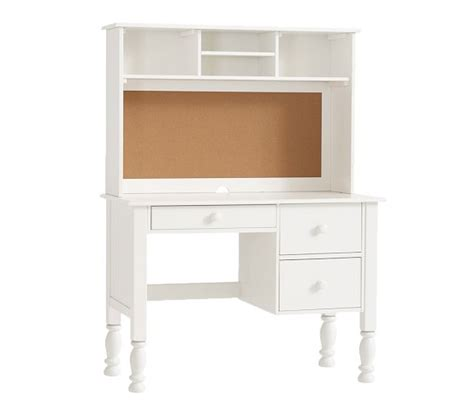 Desks With Hutches Storage Storage Desk Hutch Pottery Barn