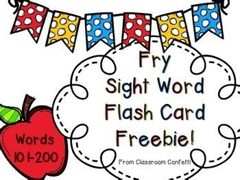 libro sight words flash fry sight words flashcard and sight word practice on