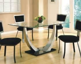 esszimmer glastisch esstisch aus glas schick und