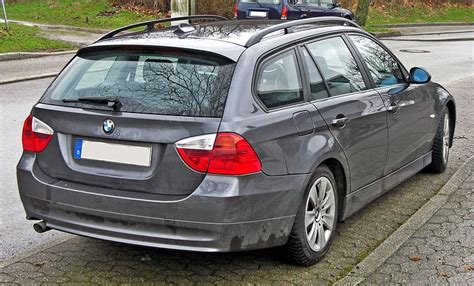 Bmw 3er Wiki E90 by File Bmw 3er Touring 20090308 Rear Jpg Wikimedia Commons