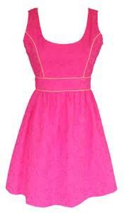 summer dresses pink eyelet summer dress