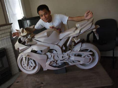 How To Make A Paper Motorbike - f 252 r die ganz langen winterabende moppedblog
