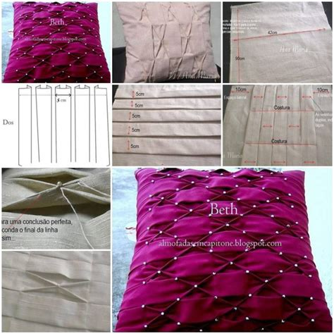 How To Make Home Decor Crafts How To Make Pillow Puffed Sleeves Designs Diy Tutorial