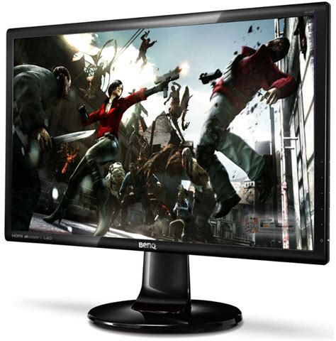 Benq Gl2460hm 24 Inch Fhd 1920x1080 Led Monitor 2ms Response Time Hdmi benq l2450h 24inch widescreen lcd monitor black pcdirectuk