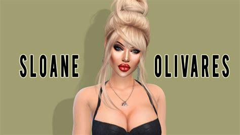 the sims 4 i create a sim i sloane olivares