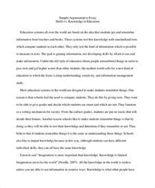 Argumentative Essay High School 9 high school essay exles sles
