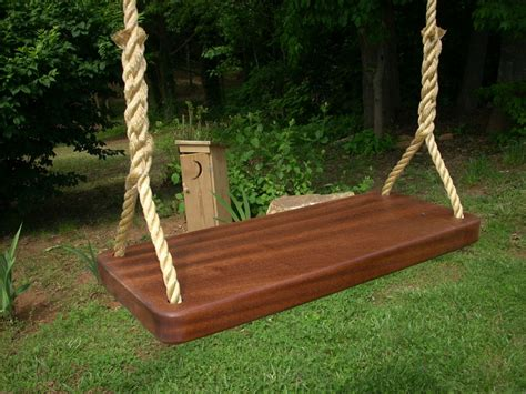 wood swing wood tree swing  swing  tree interior