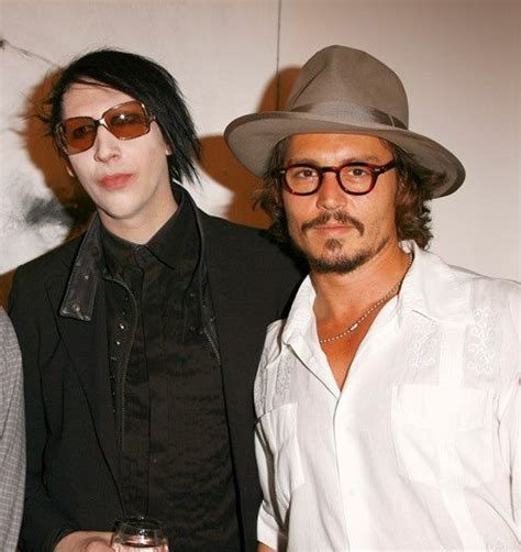 johnny depp marilyn manson tattoo johnny depp and marilyn manson friendship in rolling stone