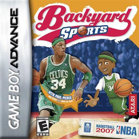 Backyard Baseball Gameboy Advance Backyard Sports Basketball 2007 U Rising Sun Rom
