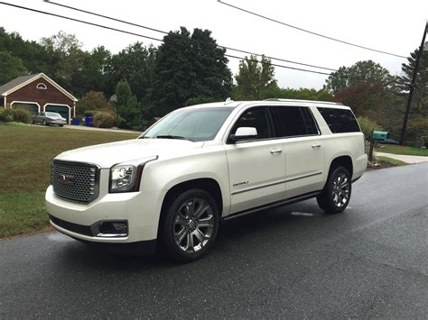 gmc yukon white 2017 2015 gmc yukon xl denali 4wd big bad bold automotive