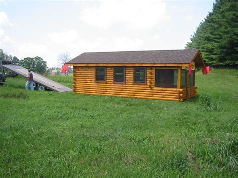 Trophy Cabins by Trophy Amish Cabins Llc Delivery