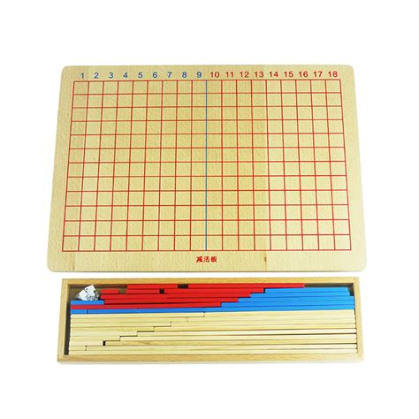 printable montessori addition strip board aliexpress com buy free shipping montessori addition