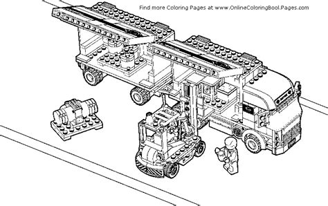 lego racers coloring pages monster truck coloring pages lego fire truck coloring