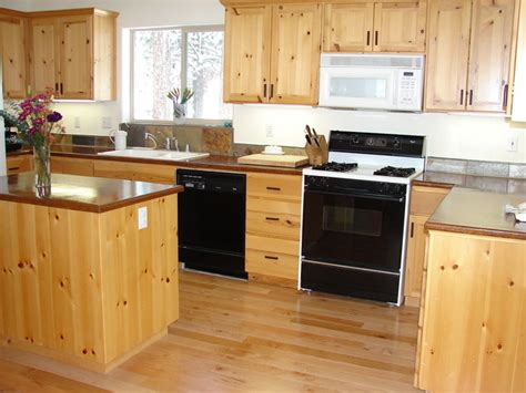 Kitchen Cabinets Pine Knotty Pine Kitchen Traditional Kitchen San Francisco By Joseph Woodworks