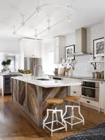 dreamy kitchen islands hgtv island farmhouse style grey