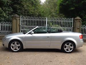 Audi A4 Convertible 2002 2002 Audi A4 Cabriolet Pictures Information And Specs
