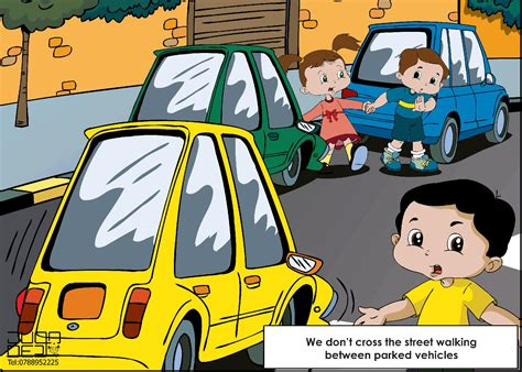 traffic safety tips for kids puri police