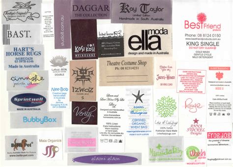 Hoodie Chion Ful Tag Label printed satin labels