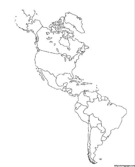 blank physical map of america blank map of and south america physical