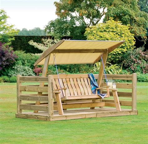 wooden canopy swing outdoor wooden patio swing set with canopy oak wood frame