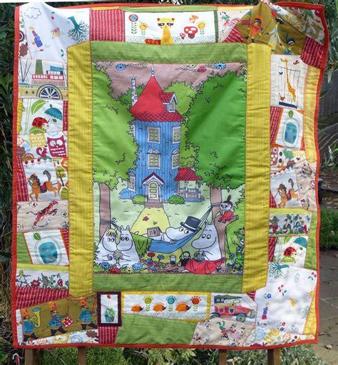Patchwork Fabric Shops - moomin quilt handmade