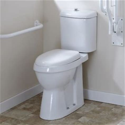 Bestbathrooms doc m disabled bathroom aid wc toilet high rise pan
