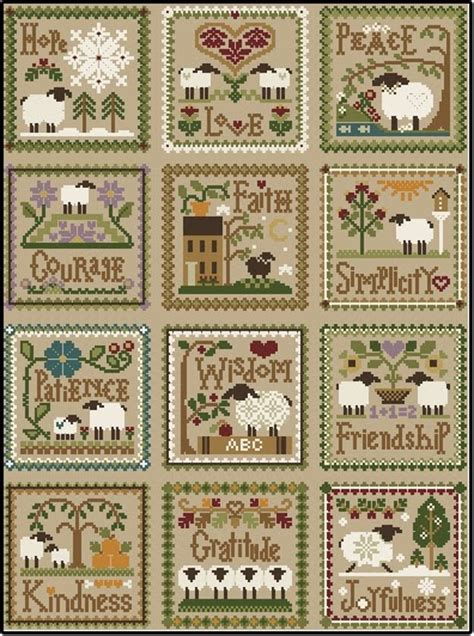 little house needleworks needle in a haystack little house needleworks little sheep virtues