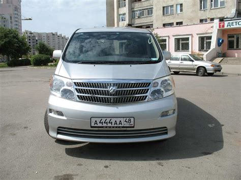 Toyota Alphard 2 4 Review 2003 Toyota Alphard Pics 2 4 Gasoline Automatic For Sale