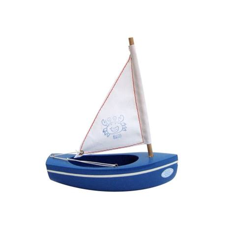 small boat toy tirot handmade toy boats for kids french blossom