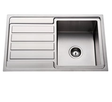 Single Sink Drainer by 304 Stainless Steel Kitchen Sink Single Bowl With Drainer