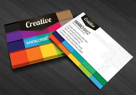Creative Business Mba creative business card lemon graphic singapore