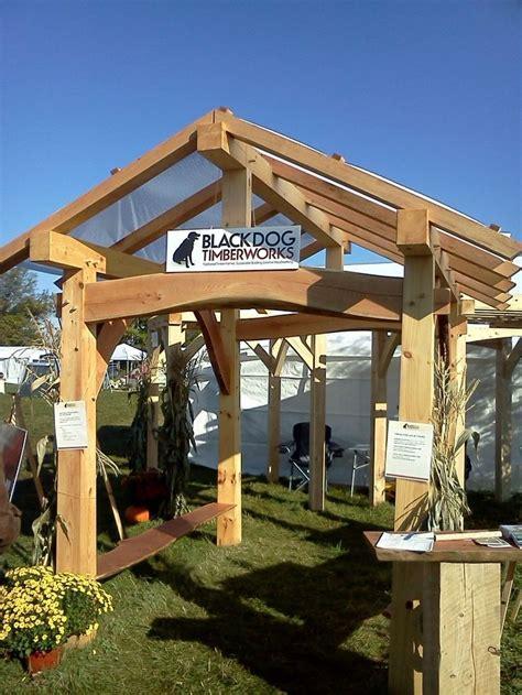 custom  timber frame pavilion lets build  home