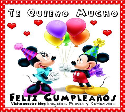 imagenes feliz cumpleaños mickey mouse tarjetas de fel 237 z cumplea 241 os con mickey para utilizar