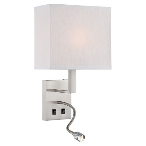 Lite Source Ls 16023 Sconce by Lite Source Ls 16979 Columbo Wall Sconce With Gooseneck
