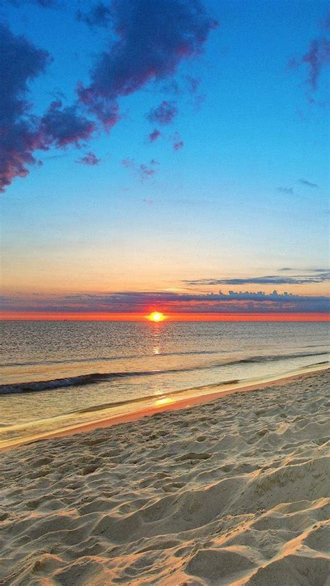 wallpaper iphone beach free download ocean beach sunset hd iphone 5 wallpapers