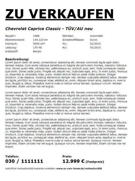 Kaufvertrag Auto Im Kundenauftrag by Muster Formular Autoverkauf