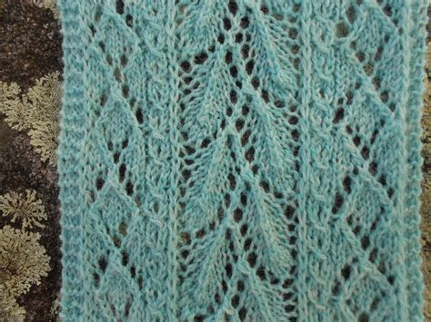 leaf lace scarf knitting pattern merry melody designs mint leaf lace scarf