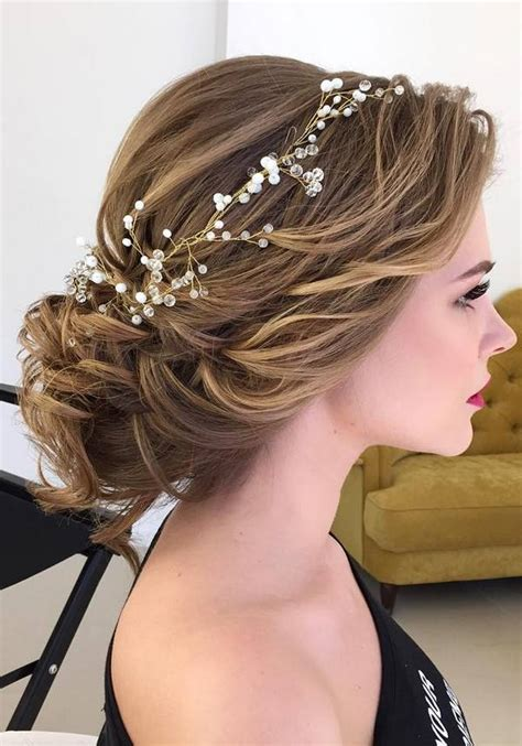 half updo bun hairstyles 75 chic wedding hair updos for elegant brides chongos