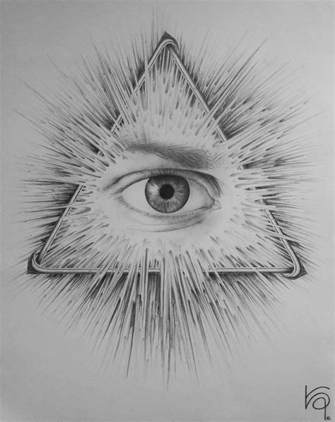 eye of providence tattoo the eye of providence by kamizzi deviantart on