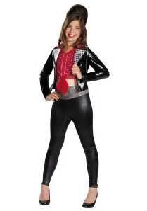 halloween costumes from halloween city girls teen beach mckenzie biker deluxe costume