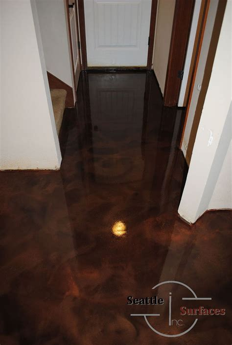 hometalk designer epoxy basement floor after failed diy