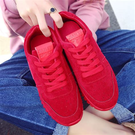 comfortable travel shoes british style 2017 new air force women sport shoes outdoor