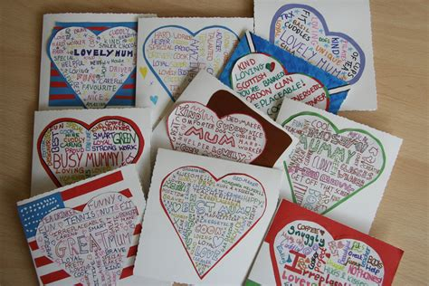 mothers day cards to make in school hearts and flowers for mothers chorleywood magazine