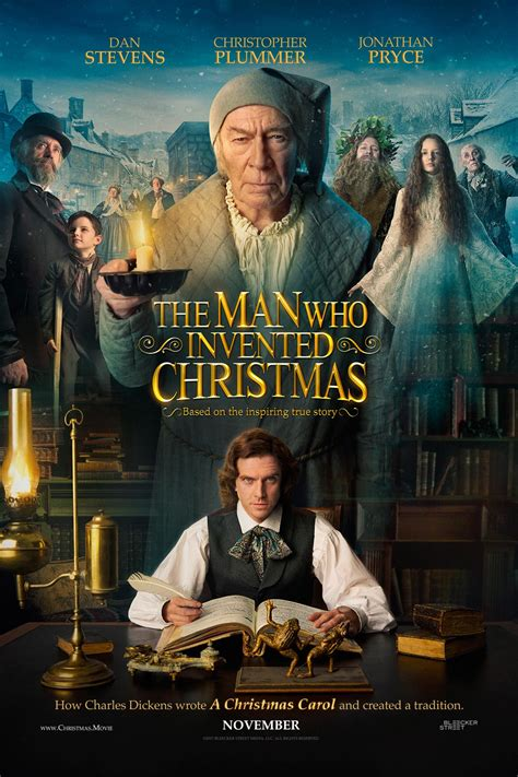current movies in theaters the man who invented christmas by dan stevens dan stevens is charles dickens in the man who invented christmas trailer